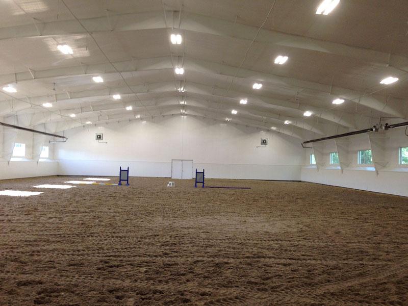 Indoor Riding Arena with windows, Edmonton