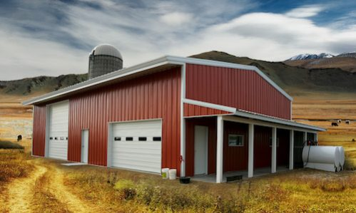 DURABLE, HIGH-QUALITY STEEL CONSTRUCTION FOR BARNS, FARM, OR RANCH STRUCTURES.