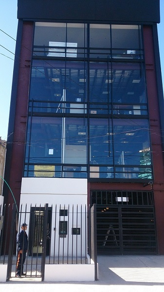 Multistory Commercial Steel Building Bogota Colombia