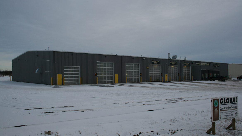 Alberta Truck Wash Building Allied Steel Buildings