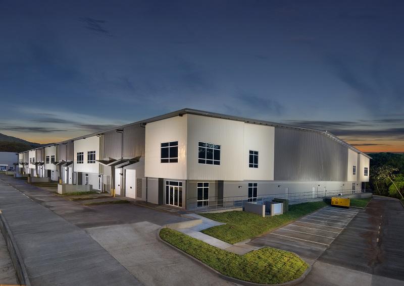 230x472x35 prefabricated industrial steel building distribution center, Panama Pacifico, Panama