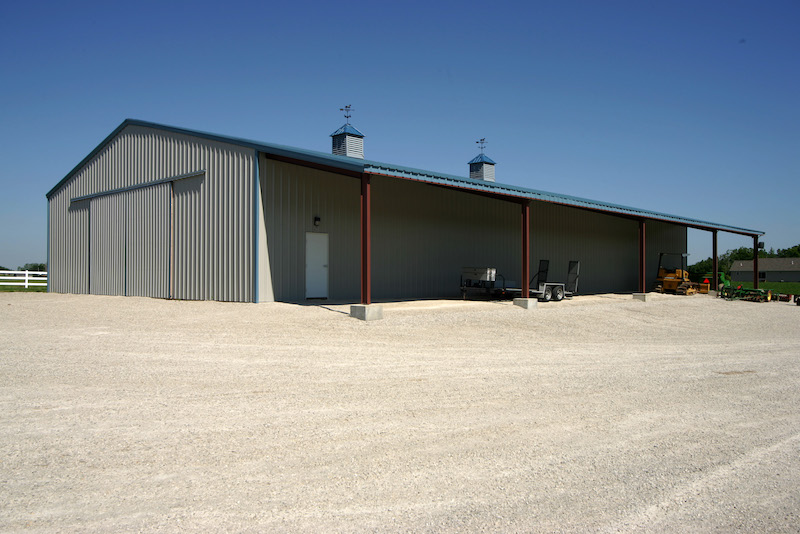 Farm Equipment Storage Pennsylvania Allied Steel Buildings