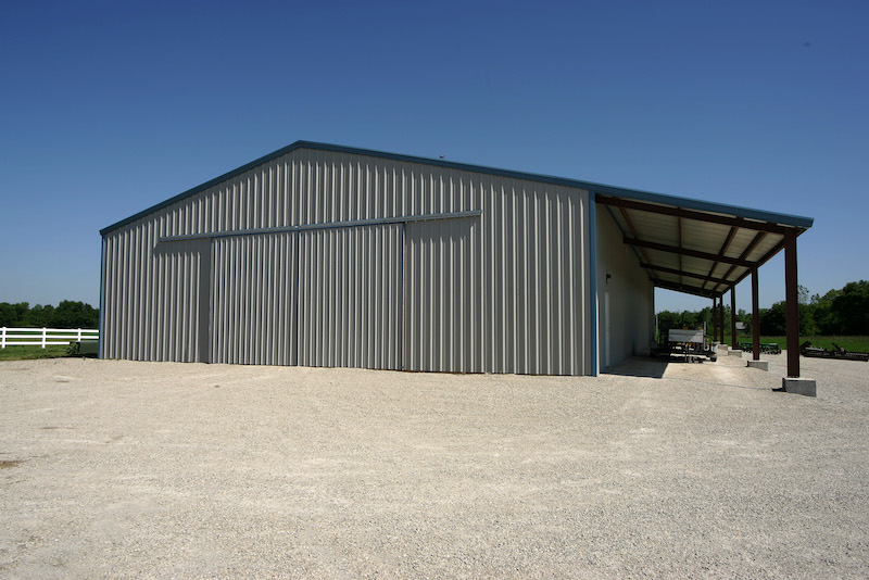 Agricultural Steel Buildings : Farm equipment storage pennsylvania allied steel buildings