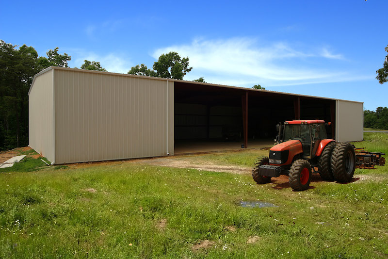 Agricultural Equipment Storage Shed NC