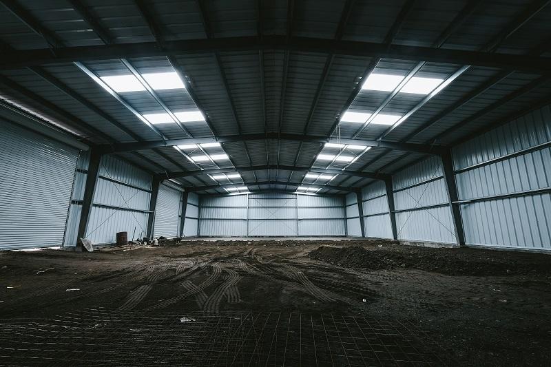 steel building garage, chile