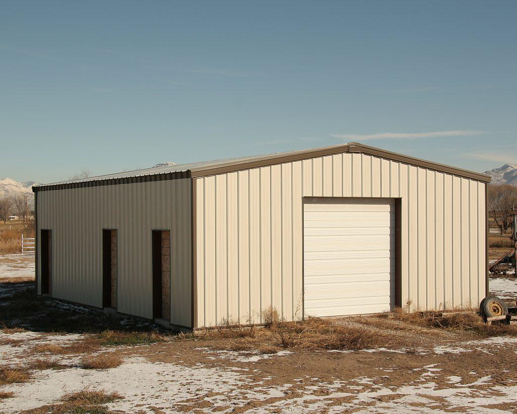 Utah Steel Buildings, 50x100 Garage