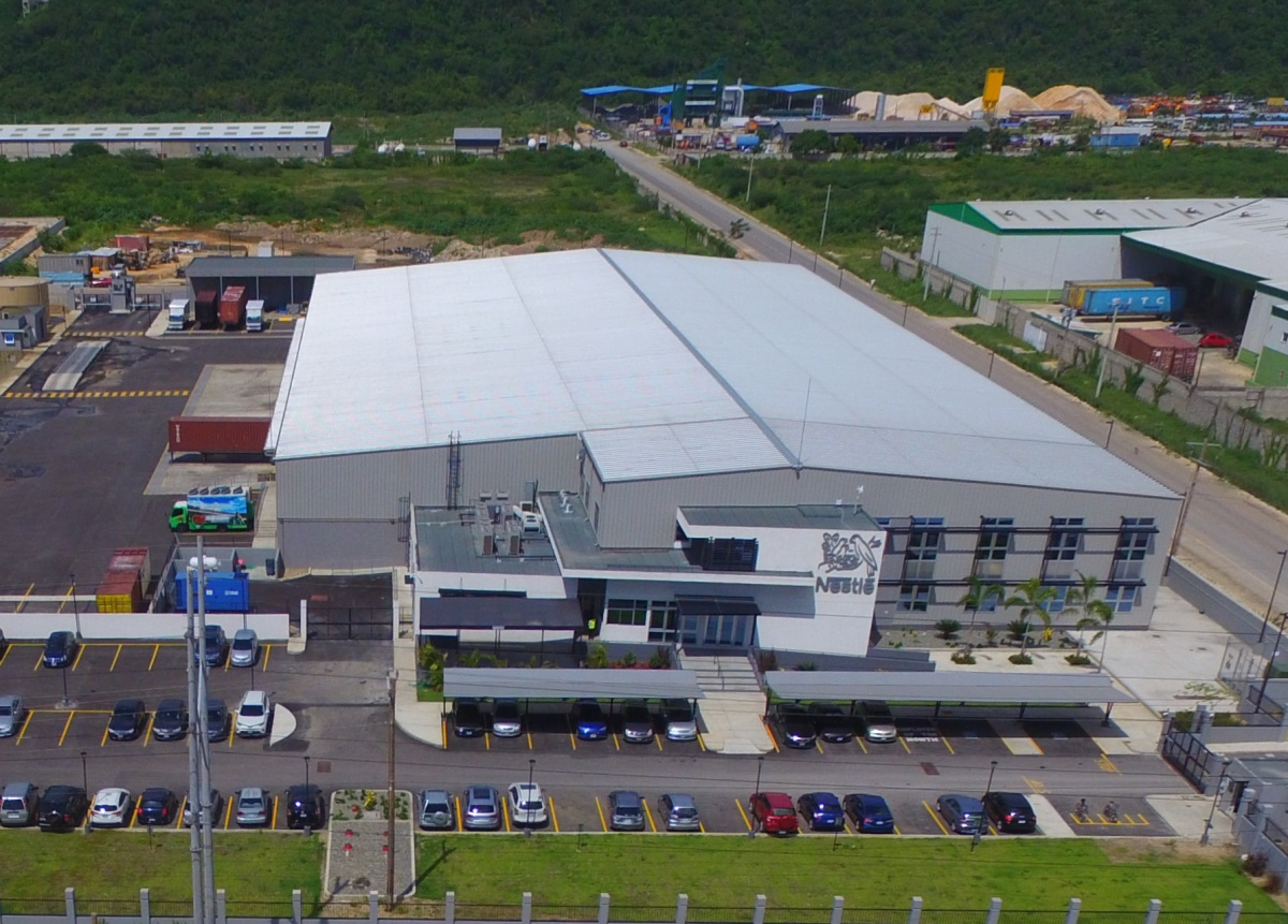 Steel Building Nestle Distribution Center Allied Steel