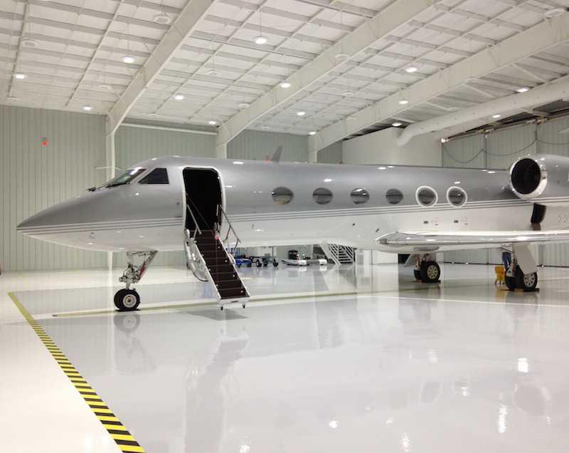130x98 Albrook Executive Steel Building Hangar, Aviation, White, Albrook, Panama