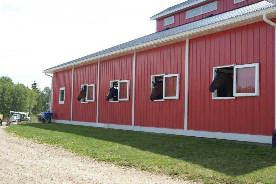 Valleyfield Farm, 100x200 Equestrian Riding Arena located in Alberta, Canada