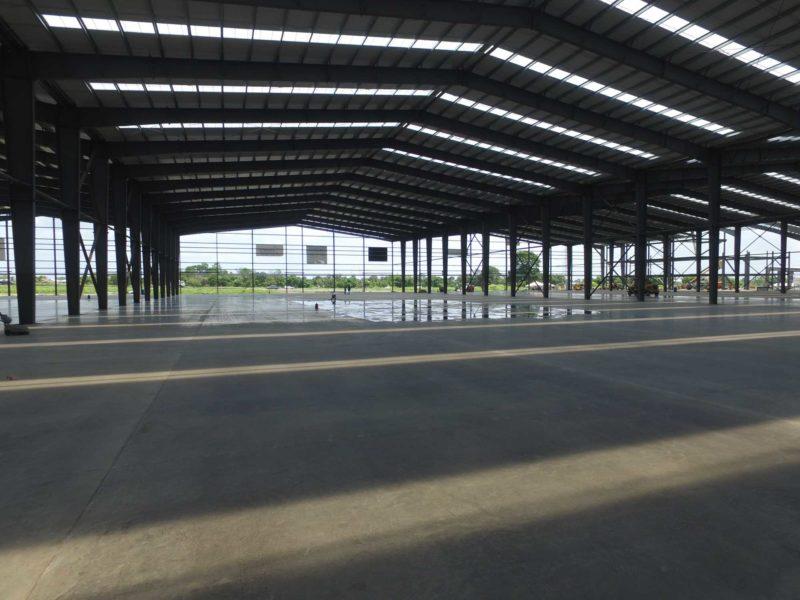 Prefab Steel Building, Gray Distribution Center, 629x387, located in Freeport Trinidad.