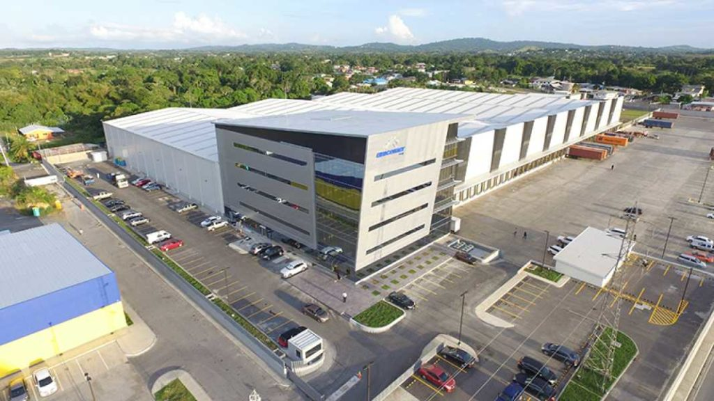 Prefab Steel Building, Gray Distribution Center, 629x387, located in Freeport Trinidad.