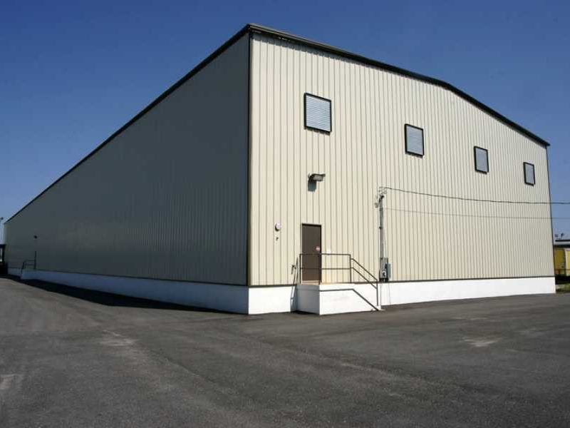 Prefab Steel Building. Warehouse And Distribution Center. 80x200 located in Mobile, Alabama.