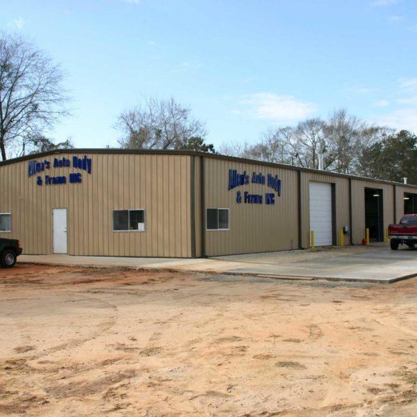Steel Buildings In Alabama