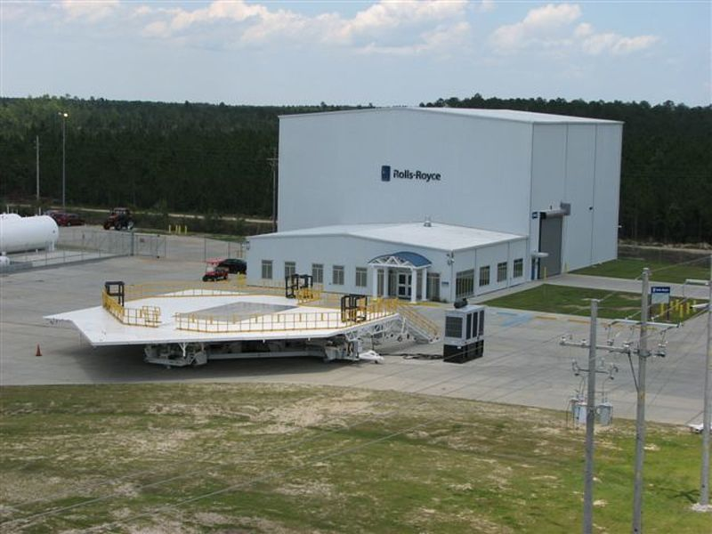 Prefabricated Jet Engine Facility Allied Steel Buildings
