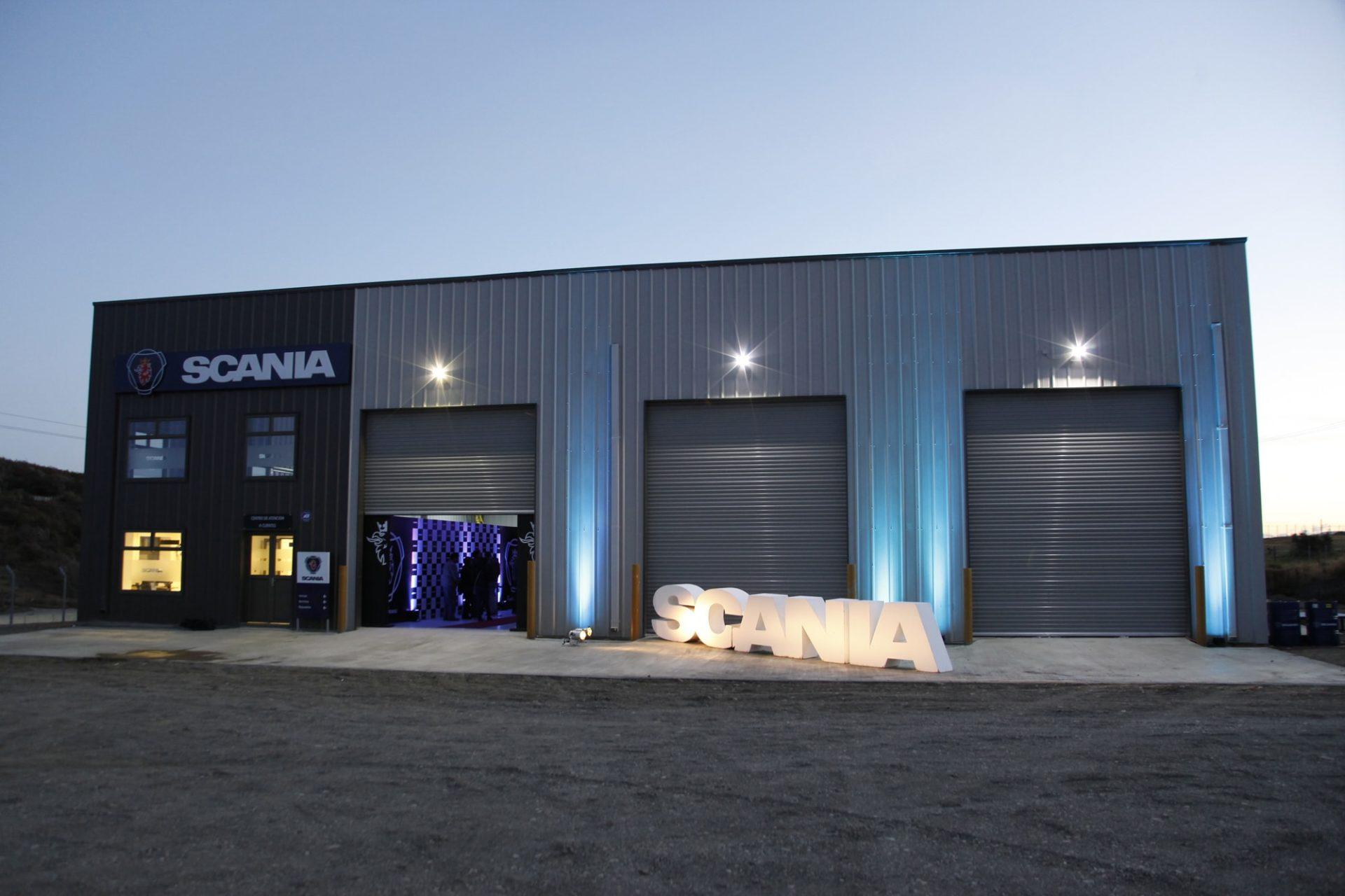 Scania Automotive Workshop Chile Allied Steel Buildings