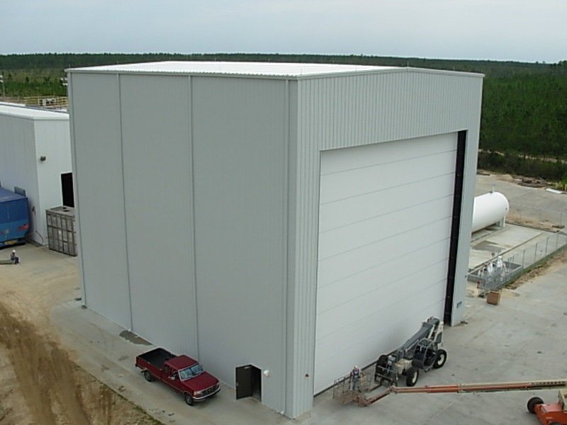Prefabricated Jet Engine Facility