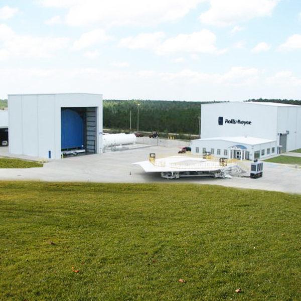 Rolls Royce Hangar, Jet Engine Test Facility at Stennis