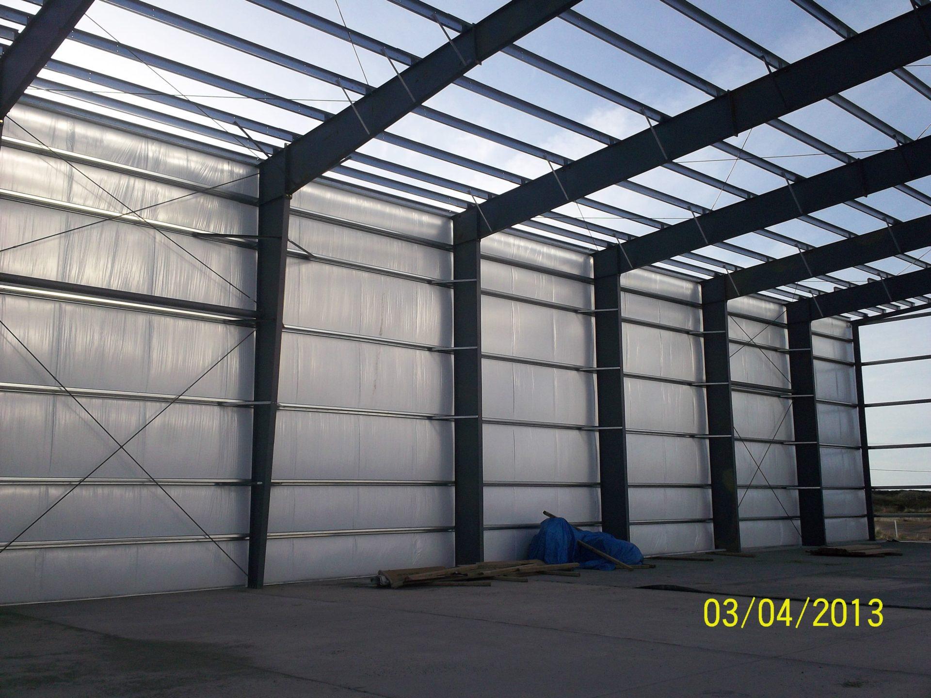 Westport Seafood, Cold Storage Warehouse   Allied Steel Buildings