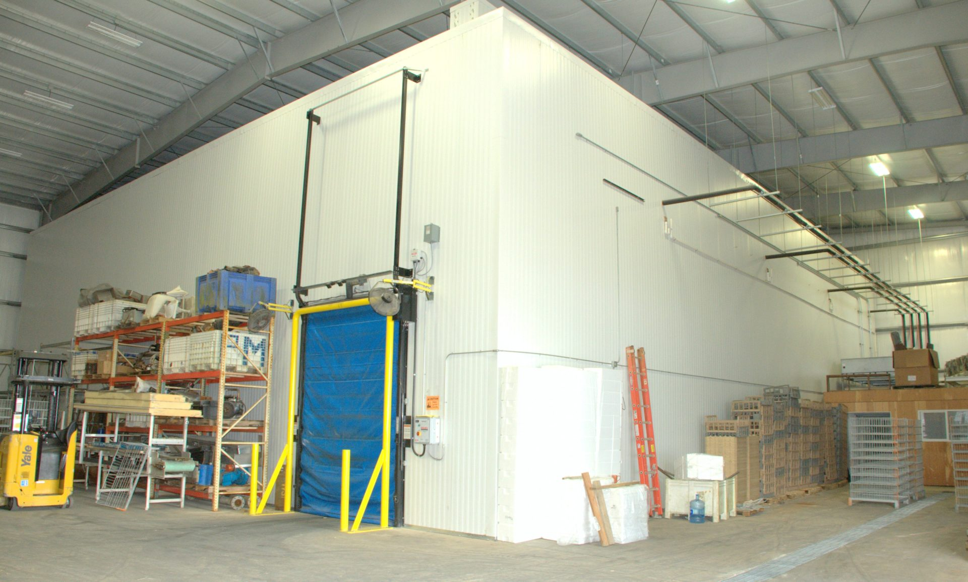 PROJECT OVERVIEW & Westport Seafood Cold Storage Warehouse | Allied Steel Buildings