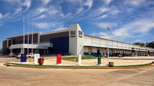 nestle steel building distribution warehouse