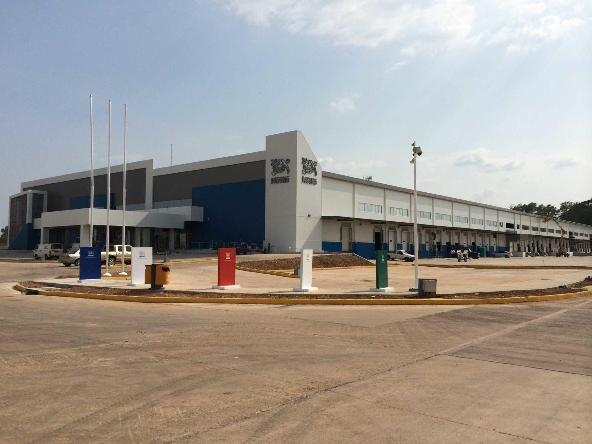 Distribution Center Steel Structure Nestle Allied