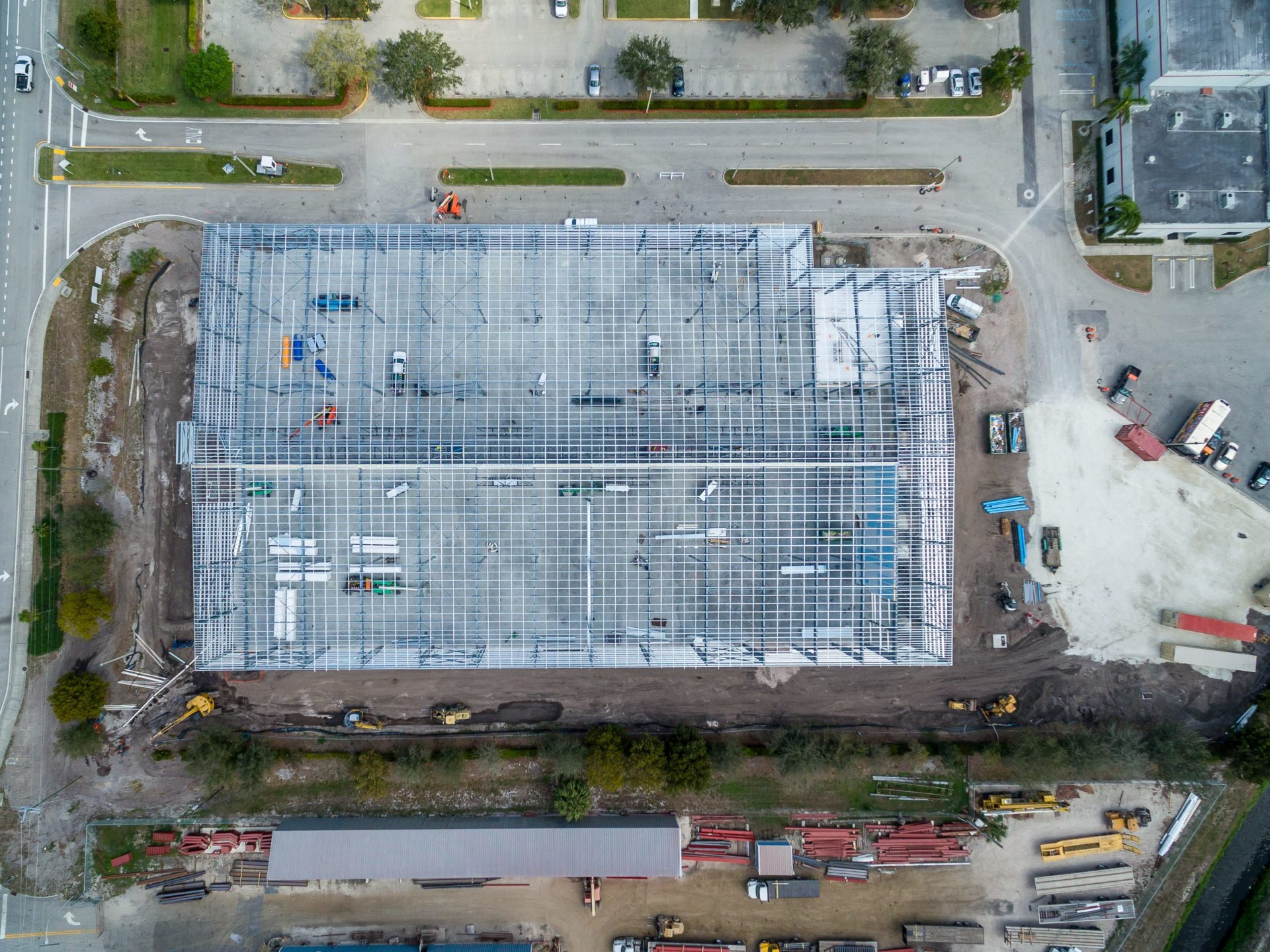 Large Cold Storage Steel Building Cheney Brothers
