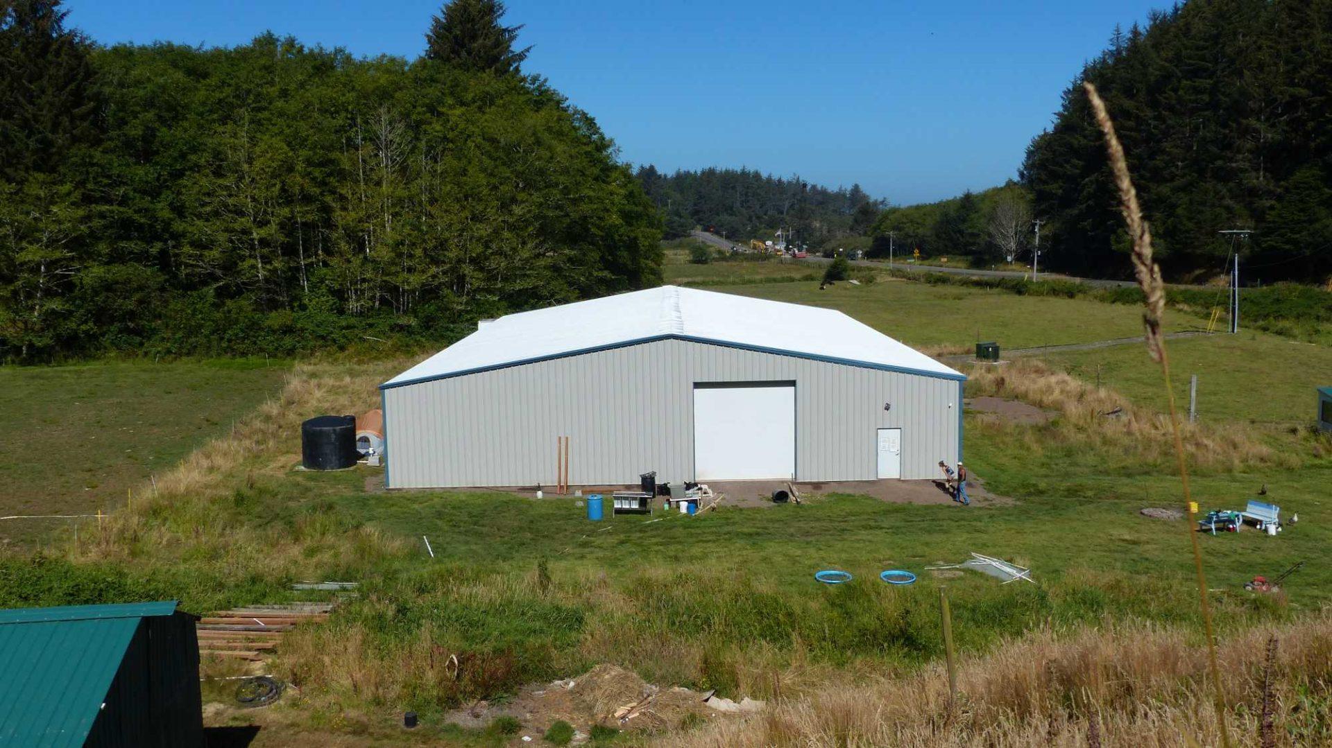 Indoor grow house building oregon allied steel buildings for Indoor gardening rainier oregon