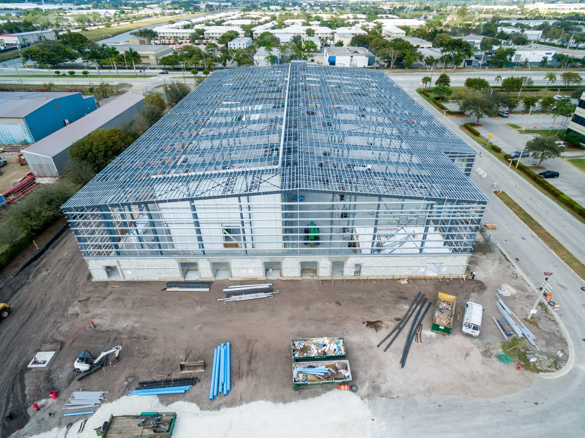 Large Cold Storage Steel Building - Cheney Brothers | Allied Steel Buildings & Large Cold Storage Steel Building - Cheney Brothers | Allied Steel ...