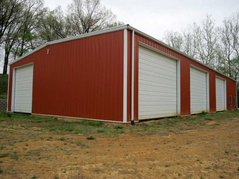 Auto body shop steel warehouse 24761 allied steel for 50x100 shop house