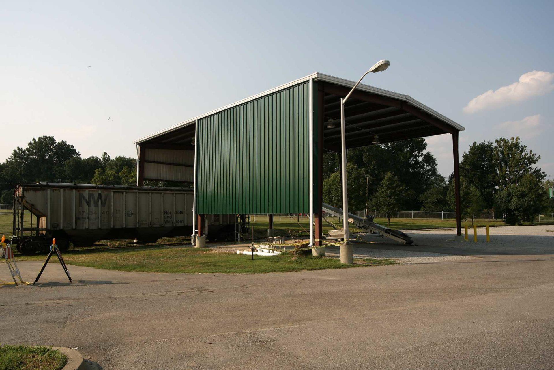Railroad Canopy 24879 Allied Steel Buildings
