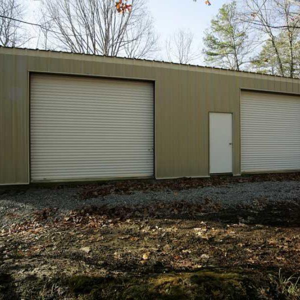 Residential Steel Building Workshop: 24904