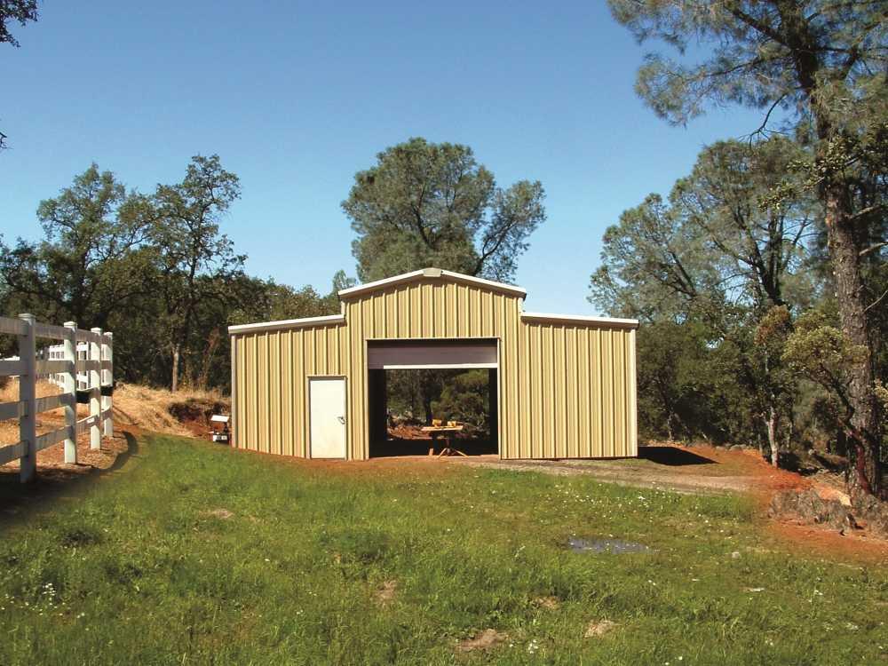24914-Steel-Building-Shed-15x24-Agricultural-Tan-ShingleSprings-CA-UnitedStates-1