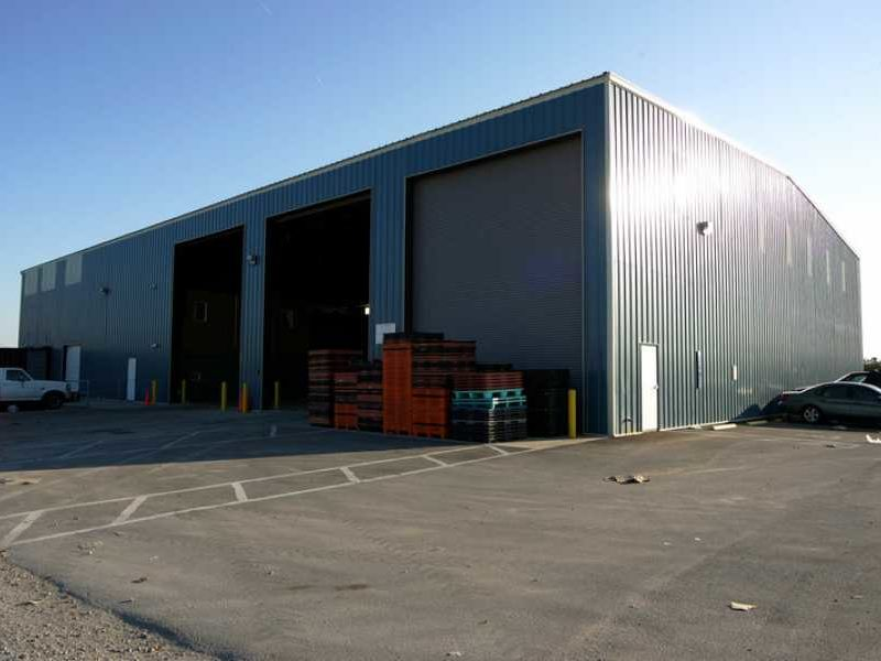 Recycling Warehouse 25094 Allied Steel Buildings