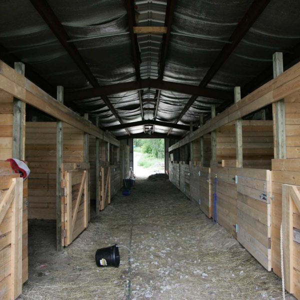 Equestrian Barn & Stables: 26020