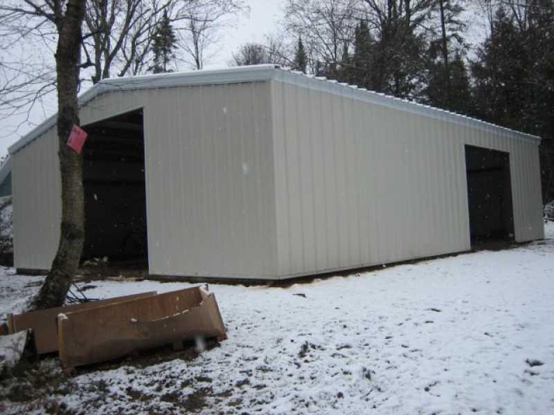 Steel Buildings Ontario >> Ontario Workshop 26584 Allied Steel Buildings