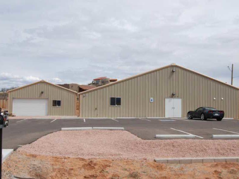 204322-Wyoming-Division-Historical-Society-Steel Building Workshop-Building-30x20-Industrial-Tan-Sedona-AZ-UnitedStates-3