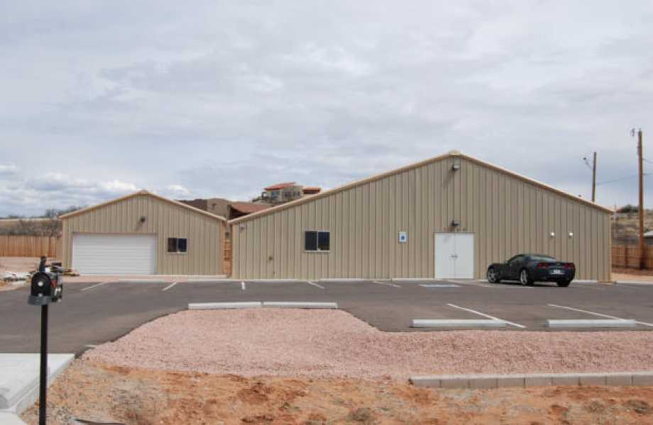 204322-Wyoming-Division-Historical-Society-Steel Building Workshop-Building-30x20-Industrial-Tan-Sedona-AZ-UnitedStates-3