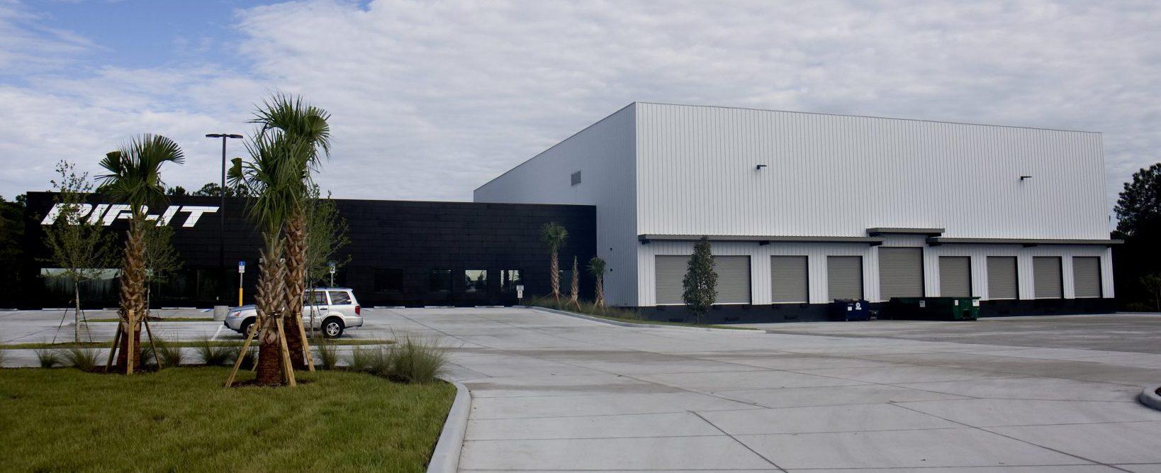 Steel Building Warehouse And Showroom