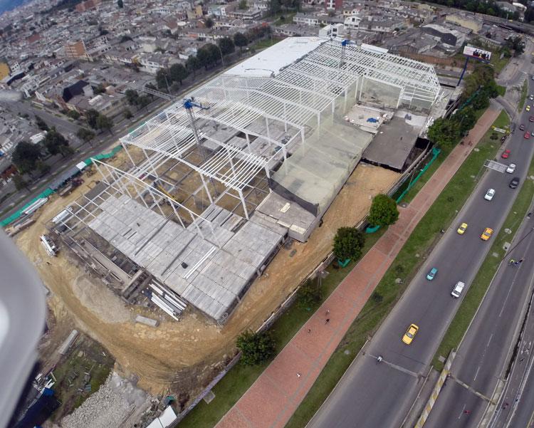 Multistory Steel Building Warehouse