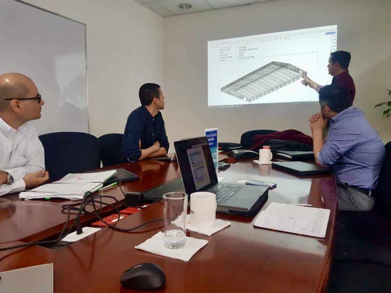 Steel building design review