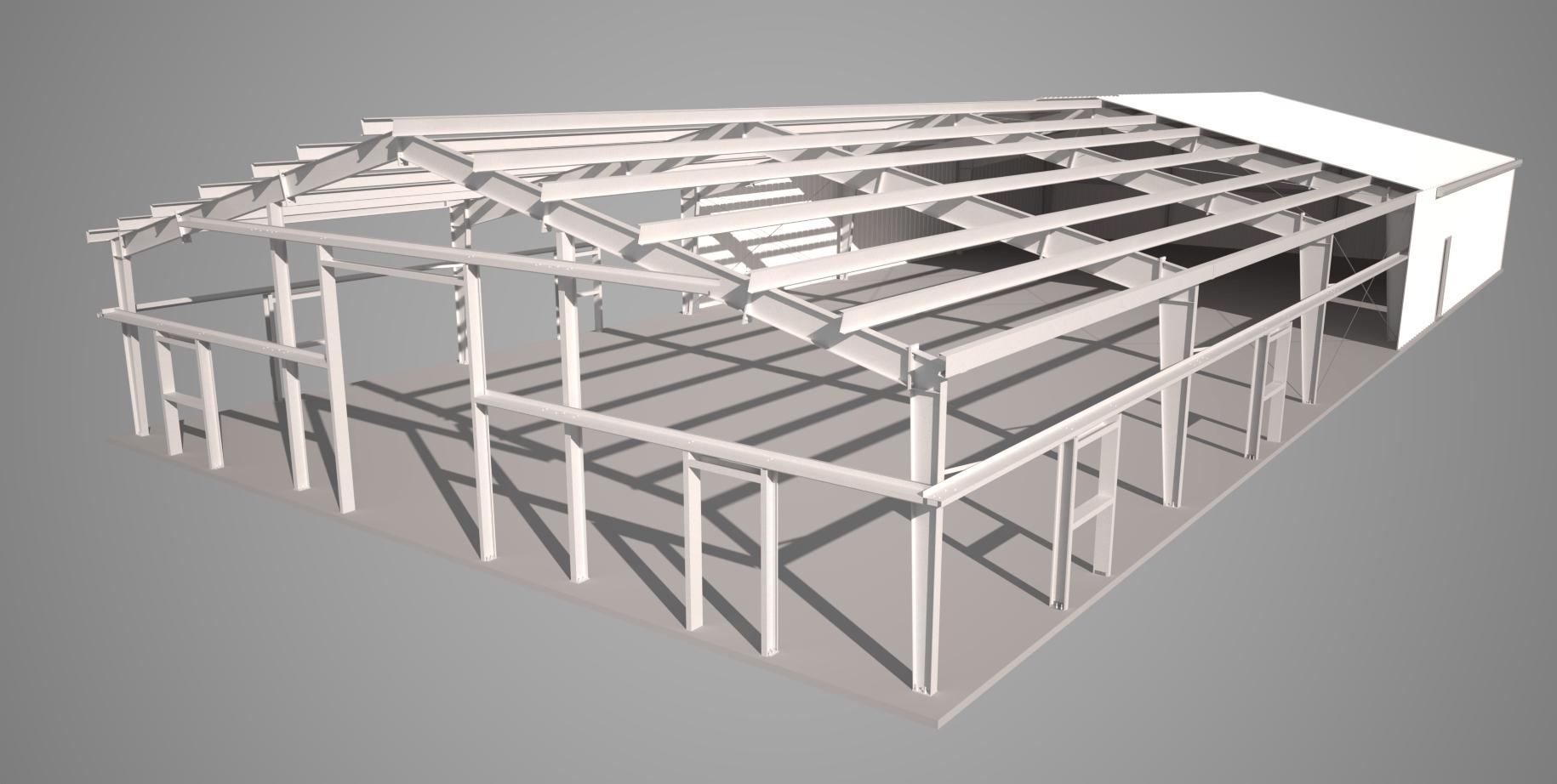 Pre Engineered Metal Buildings Details