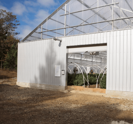 Commercial Steel Building Greenhouse