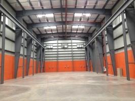 aggreko warehouse steel building panama