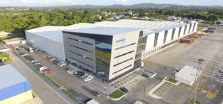 Multistory steel building office building and distribution center
