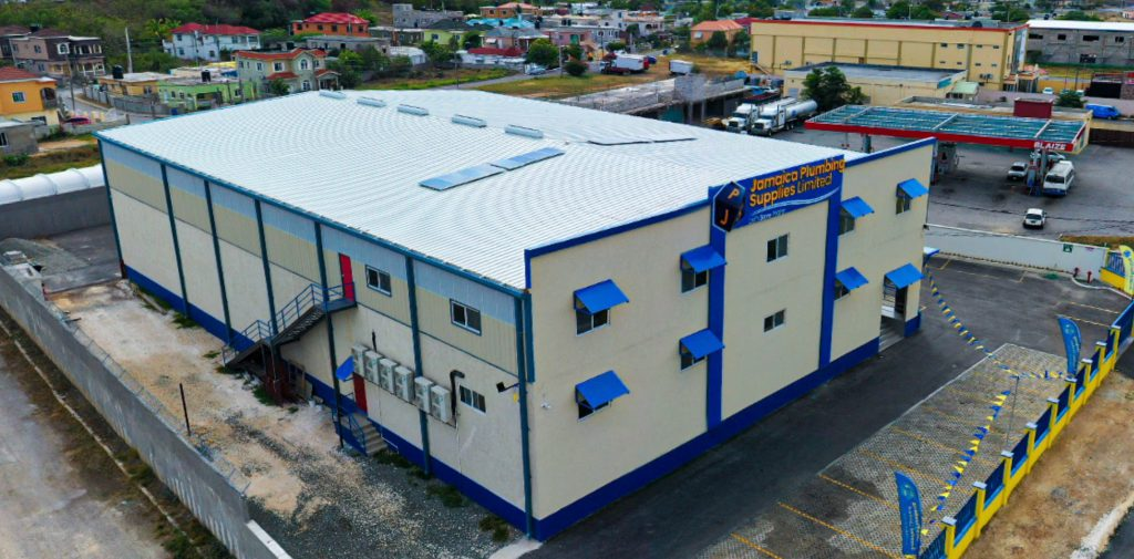 Multistory Commercial Warehouse Building Jamaica