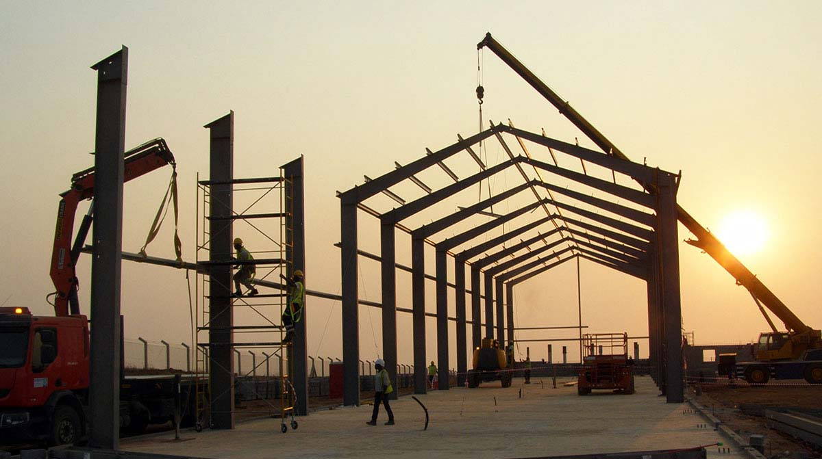 Framework of Industrial Building Lobito Refinery