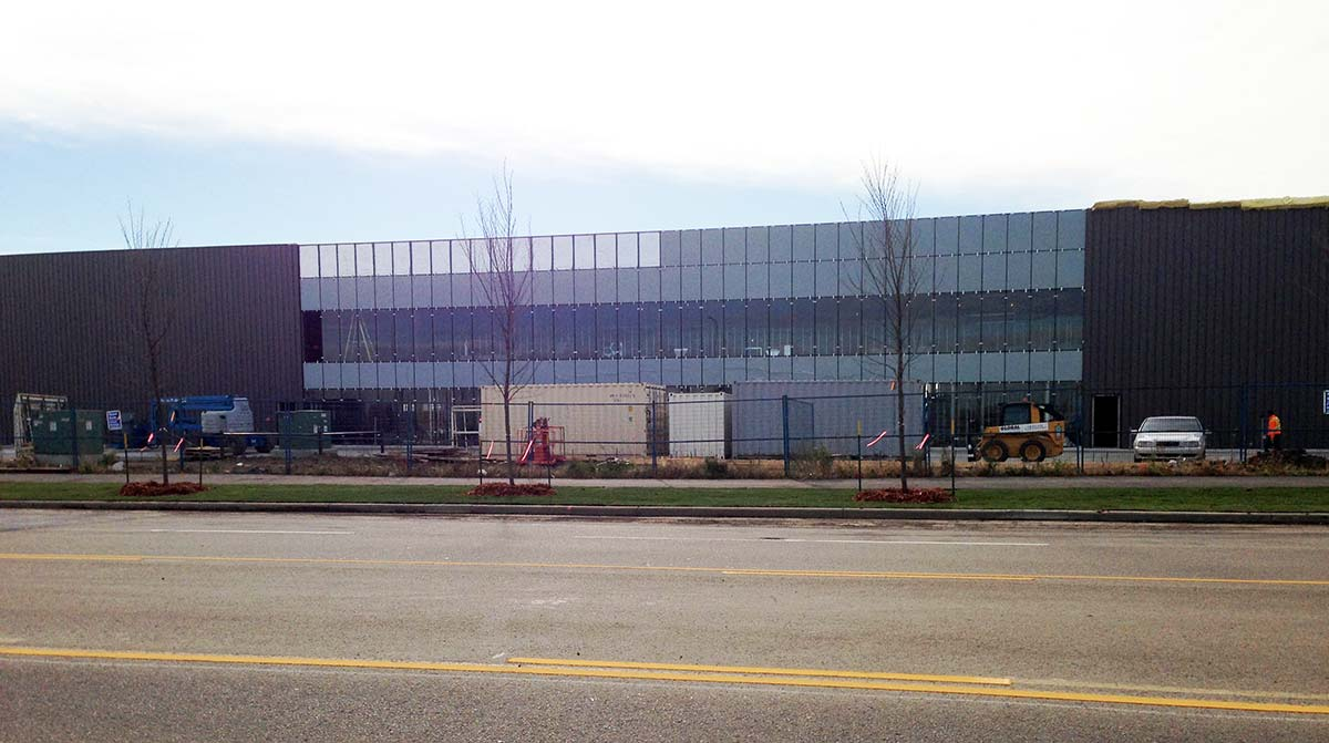 Industrial Building Edmonton Canada