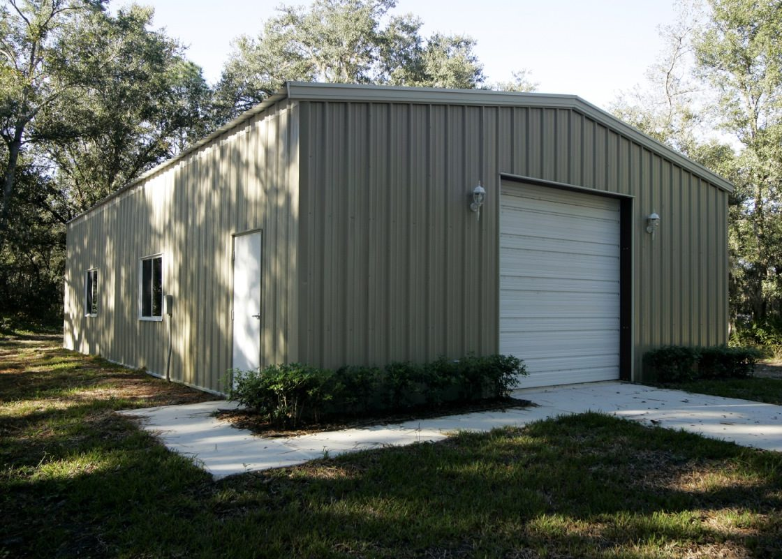 Workshop buildings metal shop buildings steel garages for Garage workshop buildings