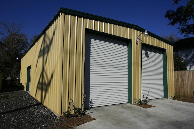 Storage Garage Steel Building