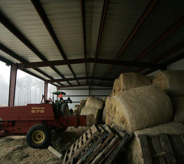 Hay Storage Building